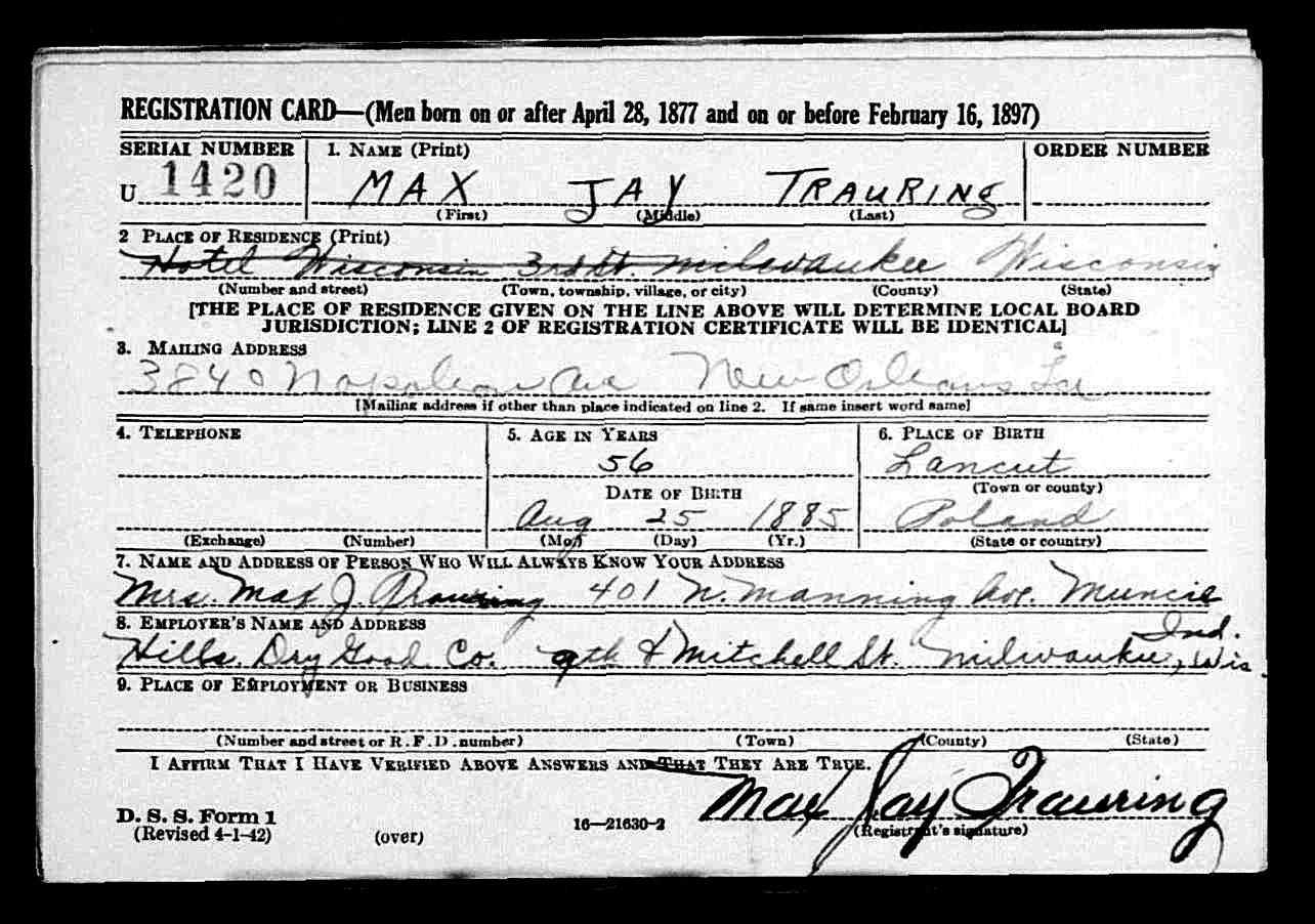 Finding Information on US Immigrants | B&F: Jewish Genealogy