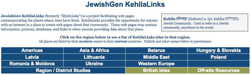 jewishgen | B&F: Jewish Genealogy and More