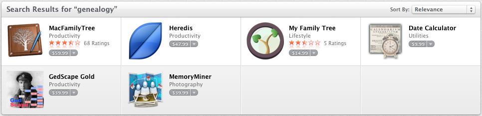 Genealogy Apps in the Mac App Store (Update) | B&F: Jewish Genealogy