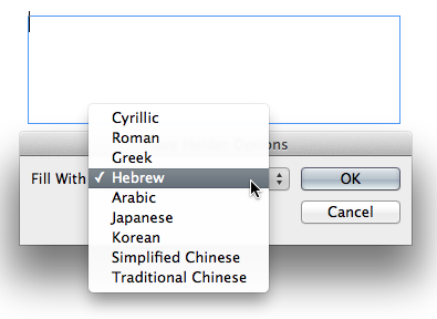 Trick to use Hebrew and Yiddish in Adobe InDesign   B&F
