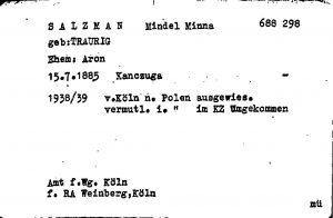 ITS Card for Mindel Traurig Salzmann