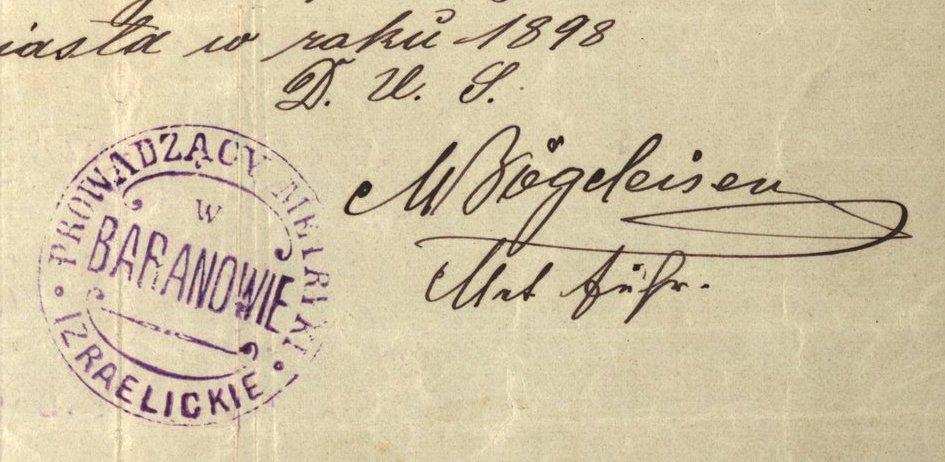 Baranów Sandomierski - 1898