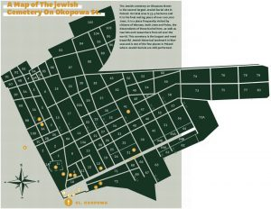 Okopowa St. Cemetery Map designed by JHI