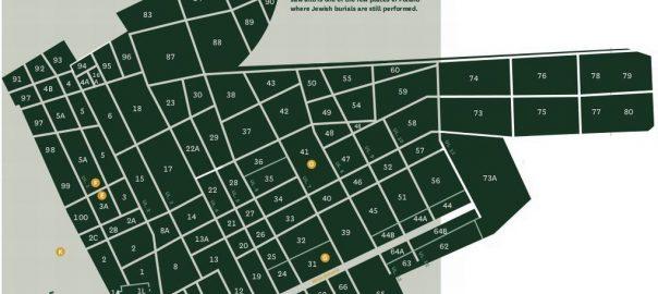 Okopowa St. Cemetery Map