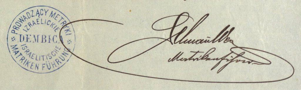 Dębica - 1896