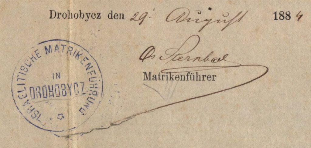 Drohobycz (now in Ukraine) - 1884