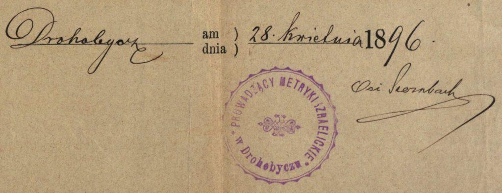Drohobycz (now in Ukraine) - 1896
