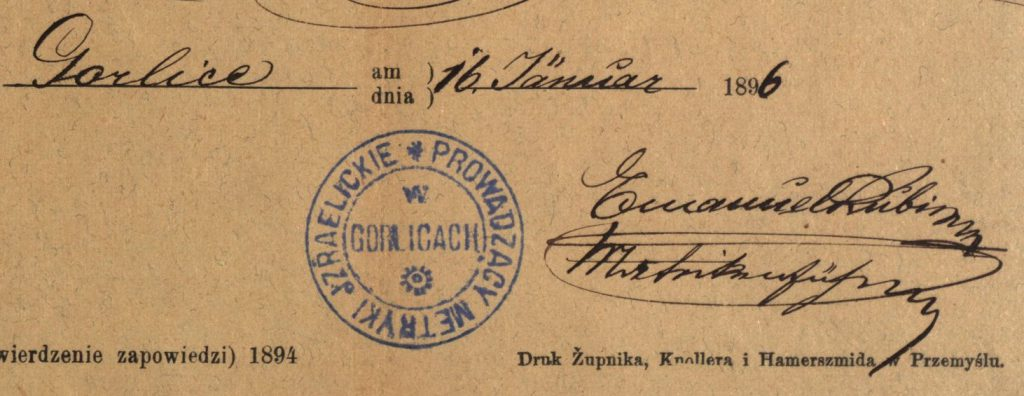 Gorlice - 1896
