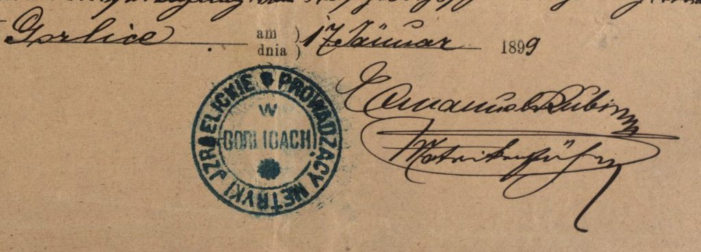 Gorlice - 1899