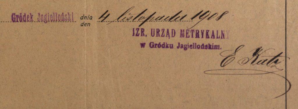 Gródek - 1908