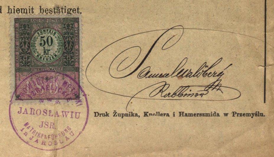 Jarosław - 1895