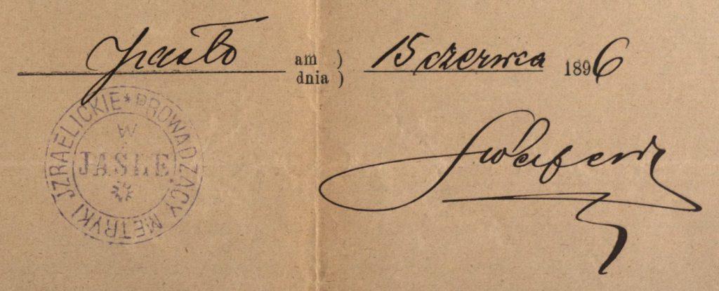 Jasło - 1896