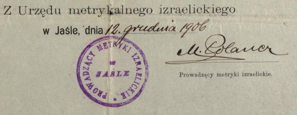 Jasło - 1906