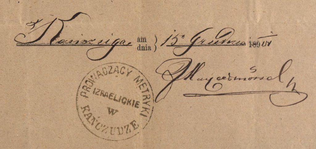 Kańczuga - 1900