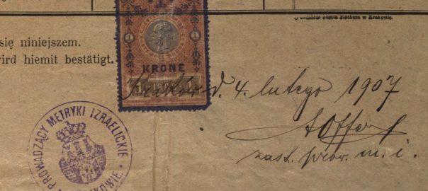 Kraków - 1907