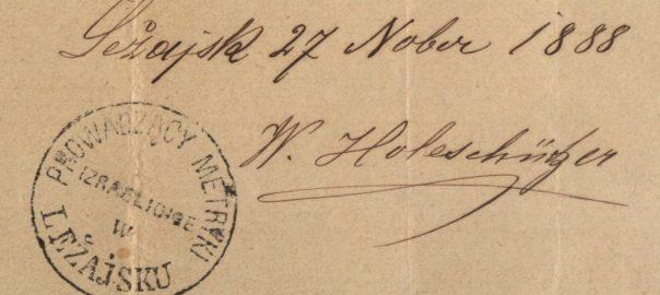 Leżajsk - 1888