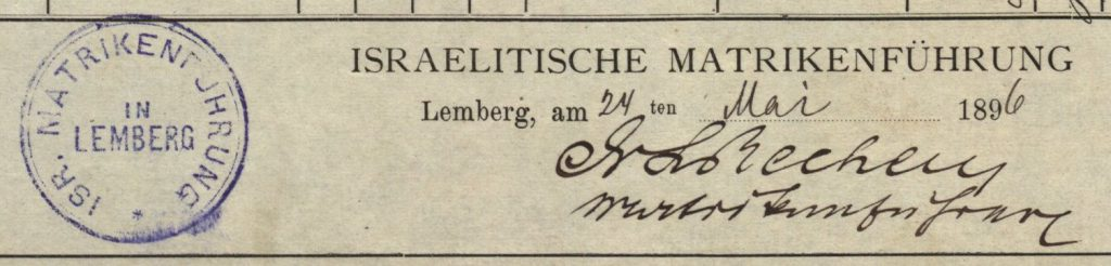 Lemberg/Lwow (now Lviv, Ukraine) - 1896