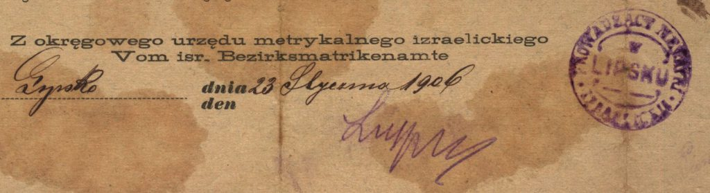 Lipsko - 1906
