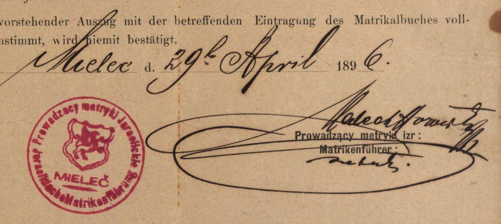 Mielec - 1896