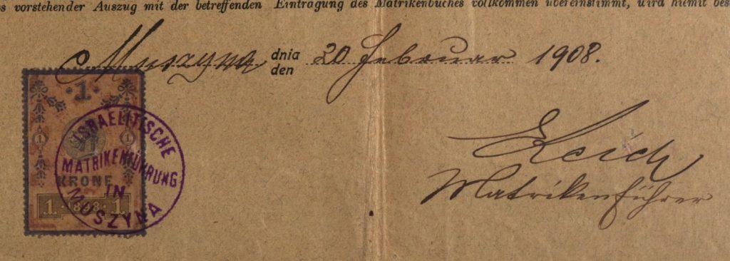 Muszyna - 1908