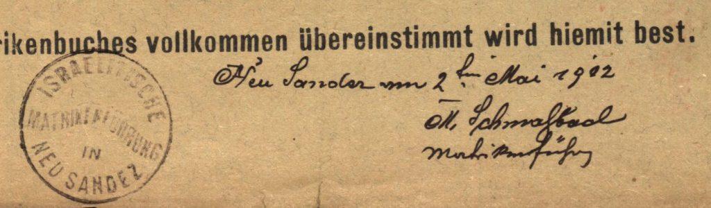 Nowy Sącz - 1902