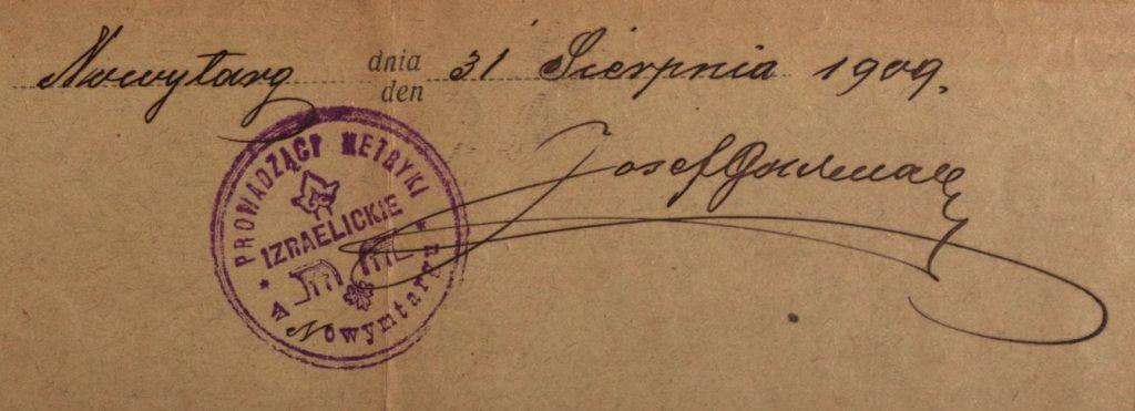 Nowy Targ - 1909