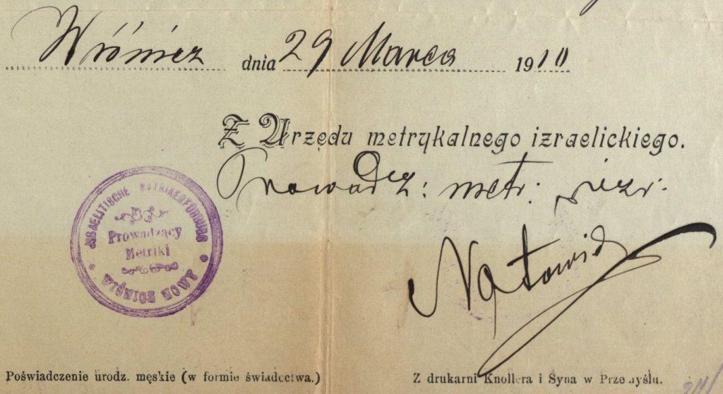 Nowy Wiśnicz - 1910