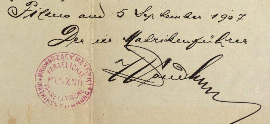 Pilzno - 1907