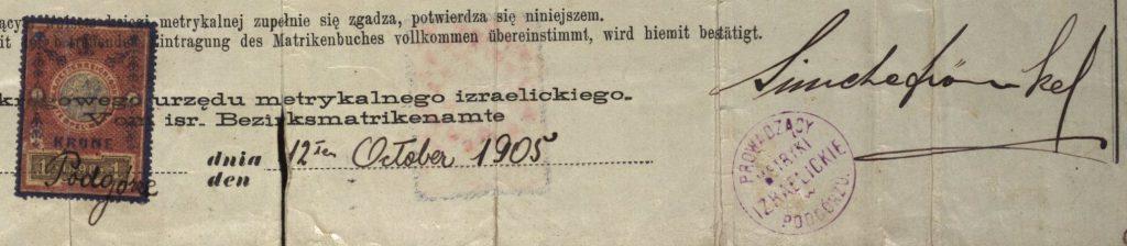Podgórze - 1905