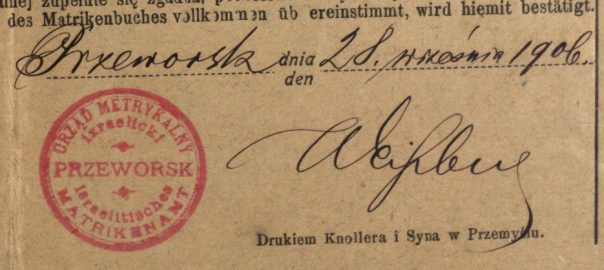 Przeworsk - 1906