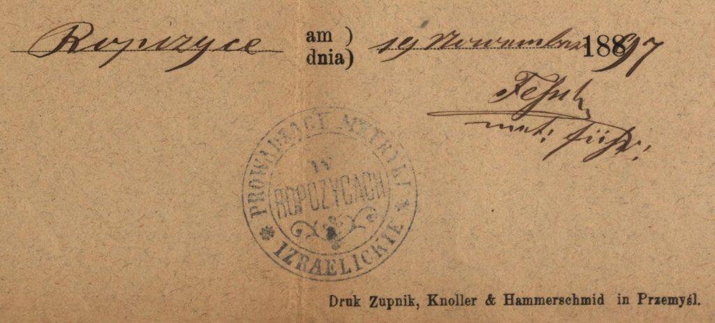 Ropczyce - 1897