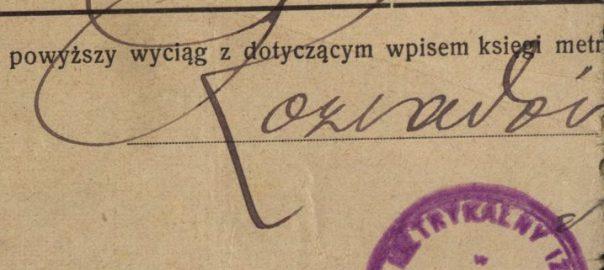 Rozwadow (now part of Stalowa Wola) - 1906