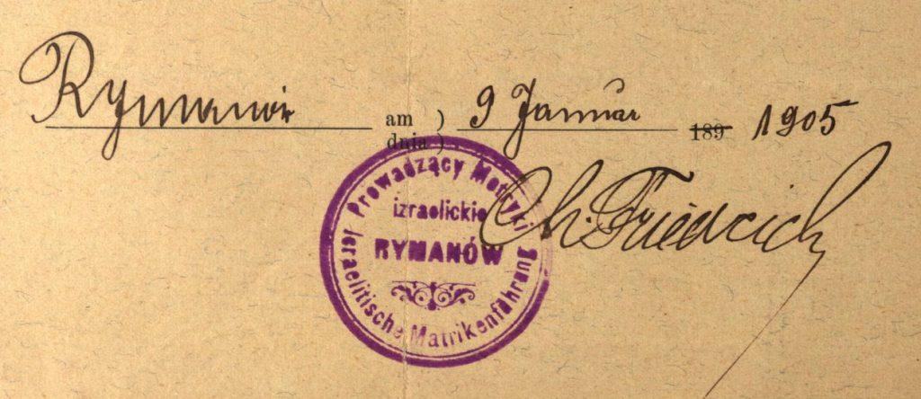 Rymanów - 1905