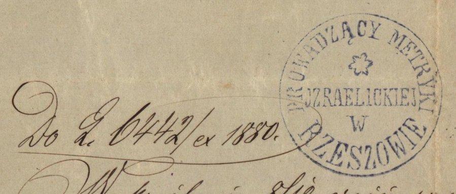 Rzeszów - 1880