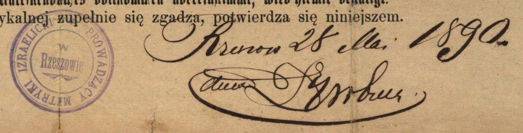 Rzeszów - 1890