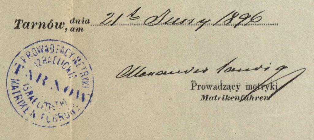 Tarnów - 1896