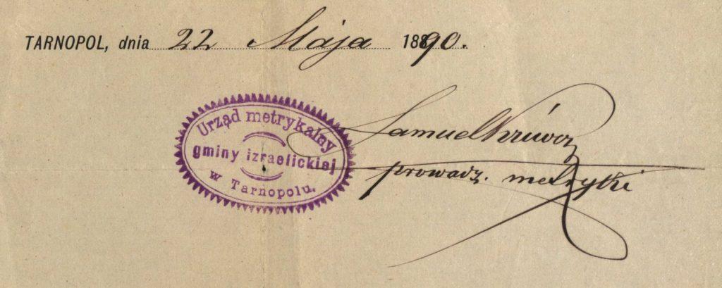 Tarnopol (now Ternopil, Ukraine) - 1890