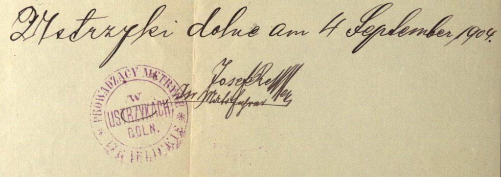 Ustrzyki Dolne - 1904