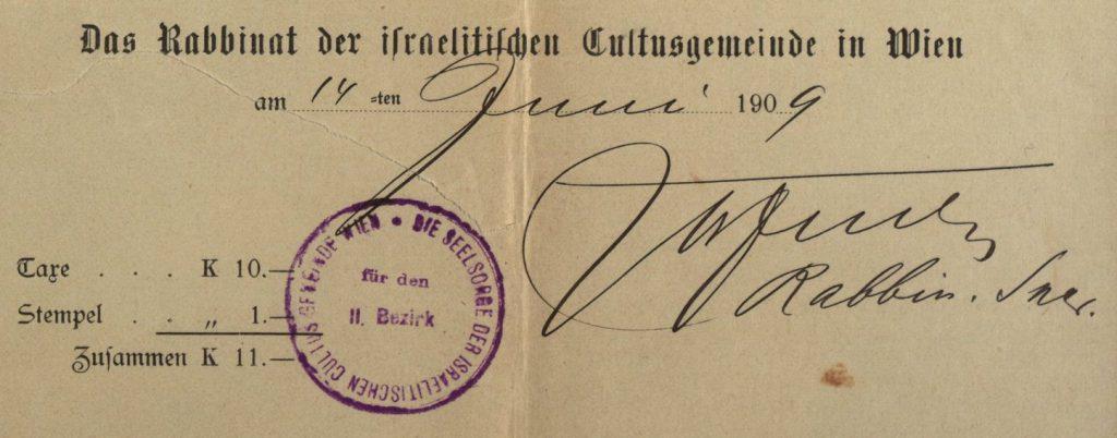 Wien (Vienna), Austria - 1909