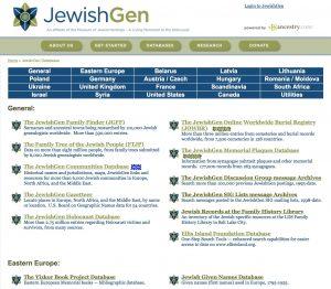 JewishGen Databases