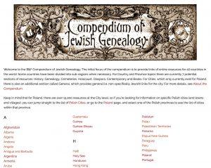 B&F Compendium of Jewish Genealogy