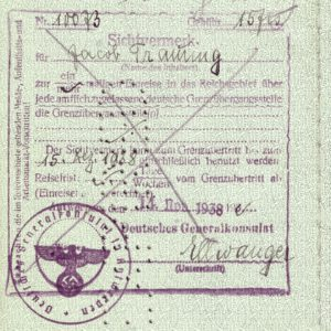 When my grandfather traveled to Nazi Germany to save his family