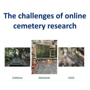 The challenges of online cemetery research